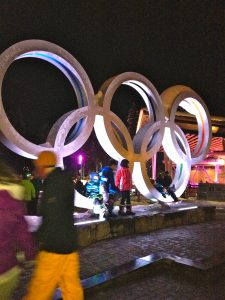 Whistler Village Olympic Rings. http://kellylmckenzie.com/olympic-moments/