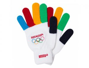 Pair of 2014 Sochi Winter Games Olympic gloves http://kellylmckenzie.com/